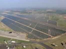 Coltishall farma solarna o dużej powierzchni