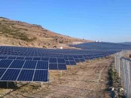 Wydajna farma solarna