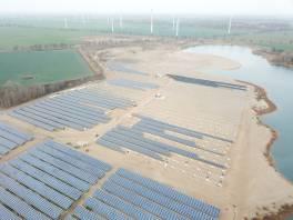 Farma fotowoltaiczna o dużej mocy prądotwórczej